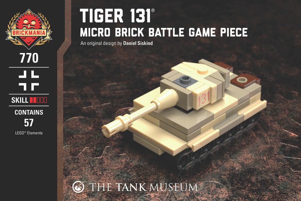 Tiger 131 - Micro Brick Battle Game Piece