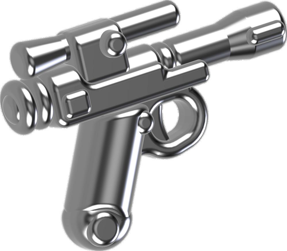 BrickArms® Shocktrooper Pistol (Silver)