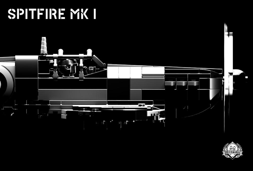 Spitfire Mk I - WWII Fighter