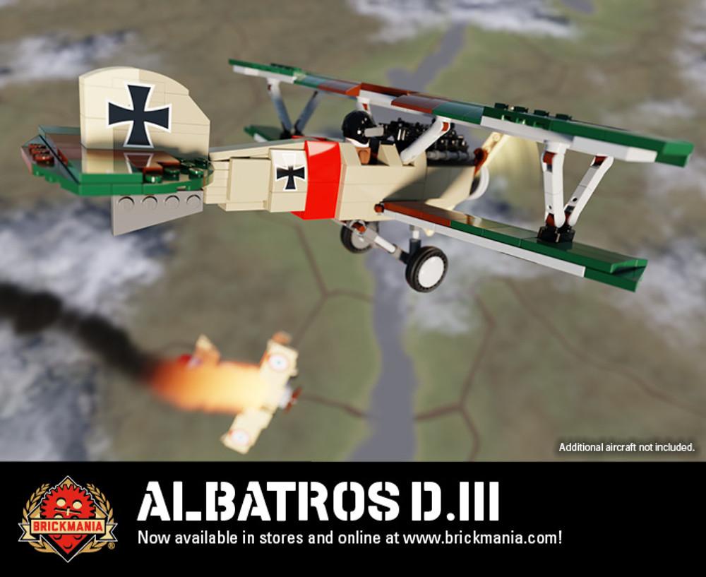 Albatros D.III - World War I Fighter Aircraft