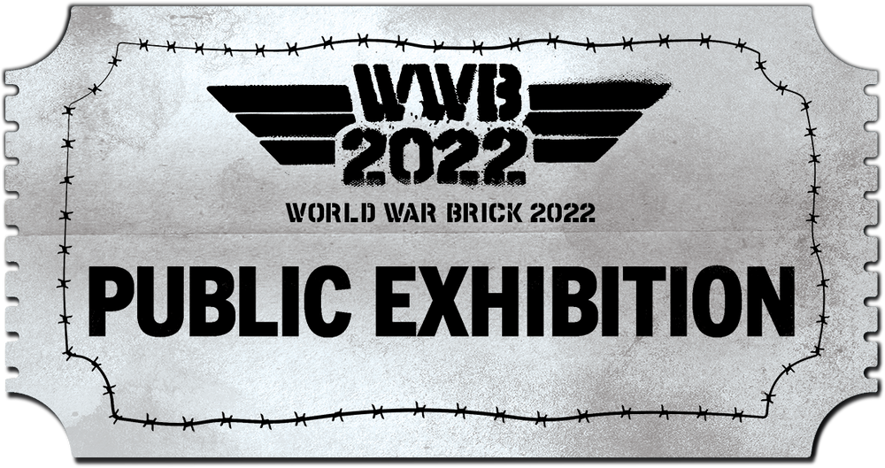 World War Brick 2022 Public Exhibition Ticket