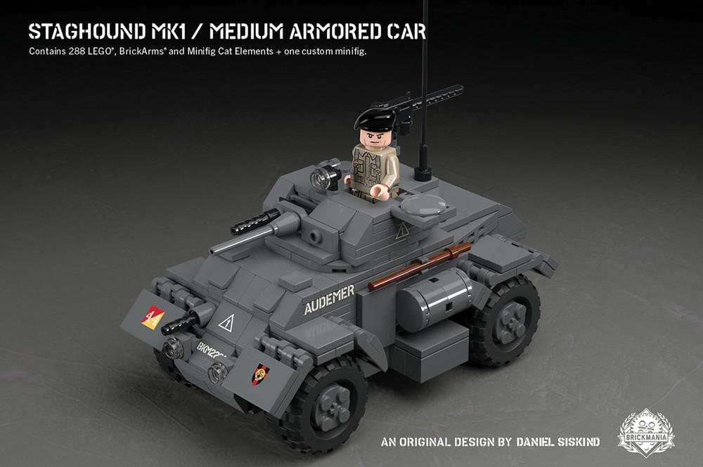 Staghound Mk 1 - Medium Armored Car
