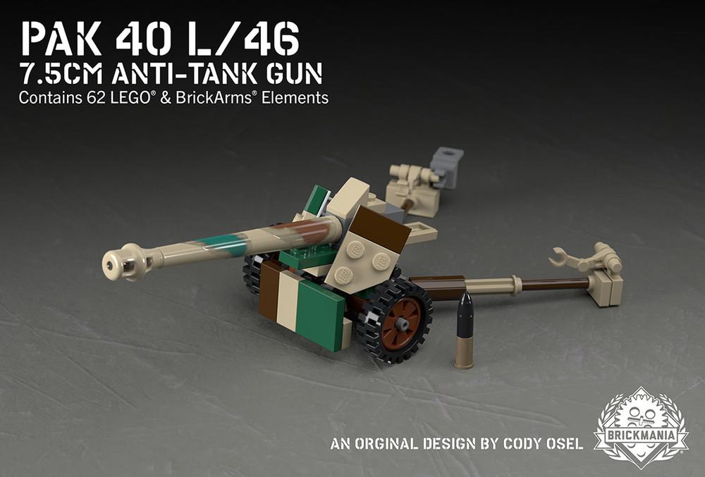 Pak 40 L/46 - 7.5cm Anti-Tank Gun