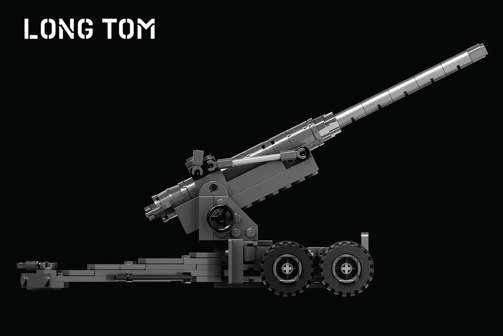 Long Tom - M1 155mm Gun