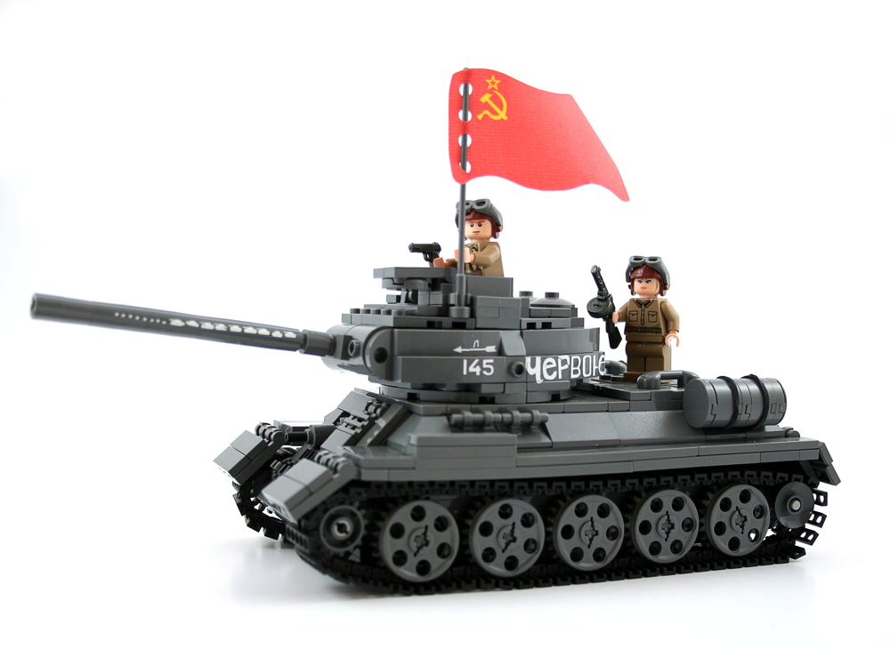 Extra figs, decals and flag not included