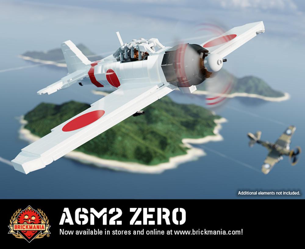 A6M2 Zero - WWII Fighter