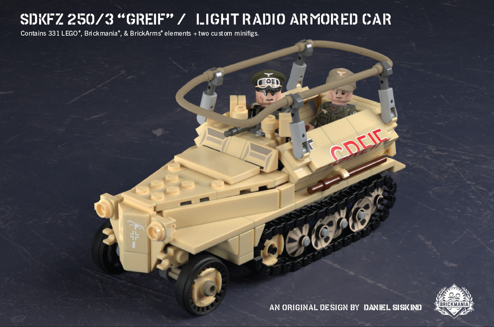 """SdKfz 250/3 """"Greif"""" - Light Radio Armored Car"""