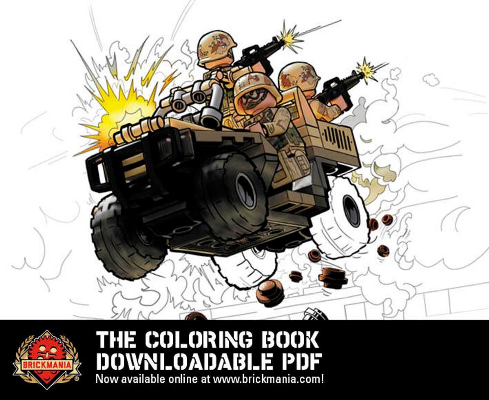 Brickmania The Coloring Book - PDF Download