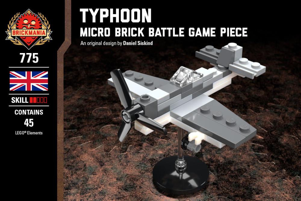 Typhoon - Micro Brick Battle Game Piece