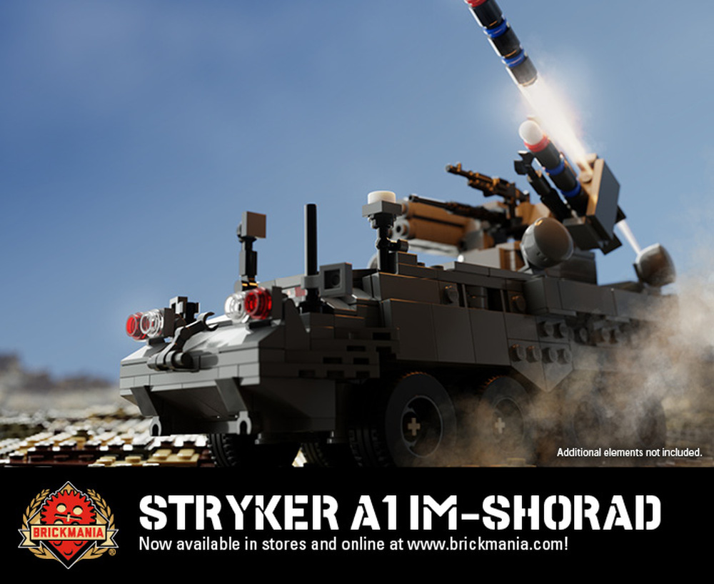 Stryker A1 IM-SHORAD - Armored Personnel Carrier (8 in 1)