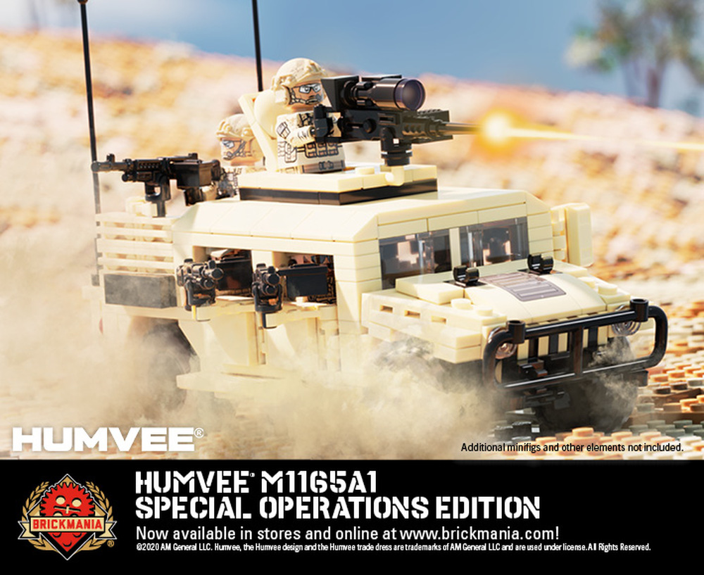 HUMVEE® M1165A1 - Special Operations Edition