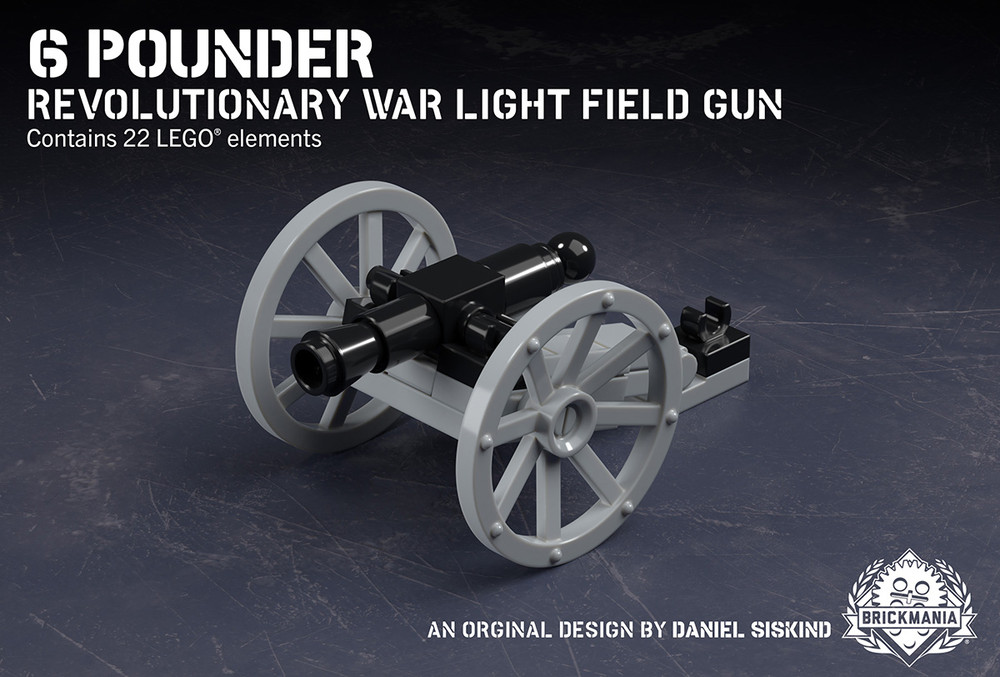 6-Pounder - Revolutionary War Light Field Gun