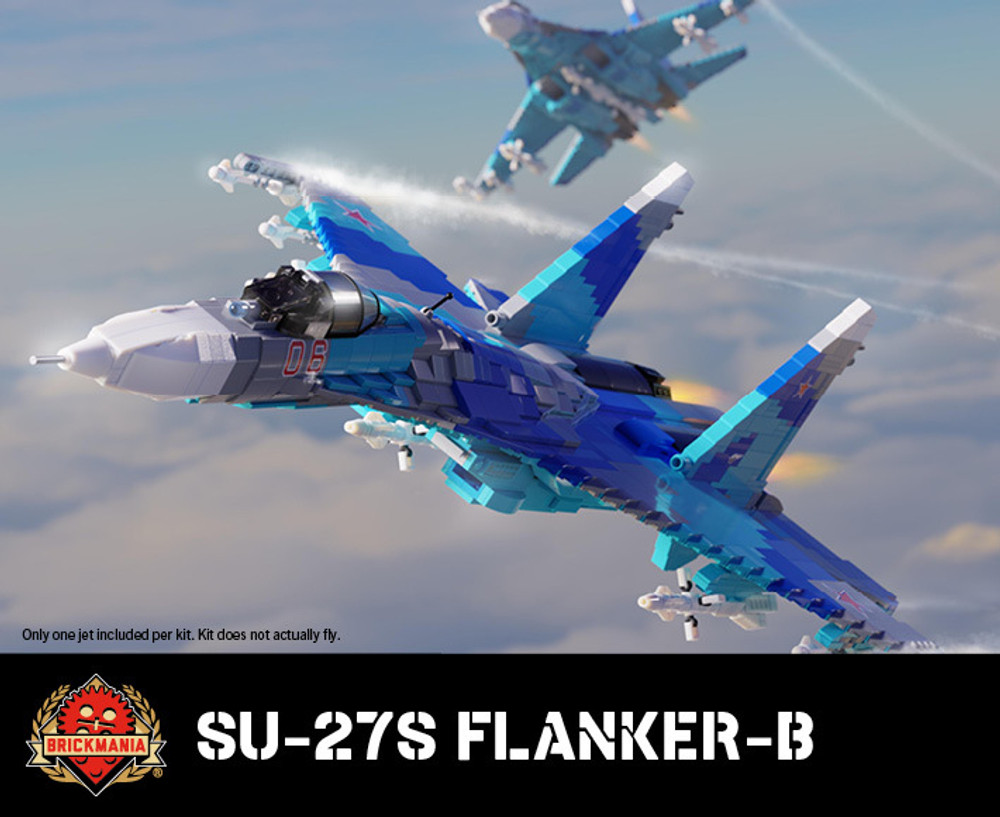 Su-27S Flanker-B - All-Weather Air-Superiority Jet Fighter