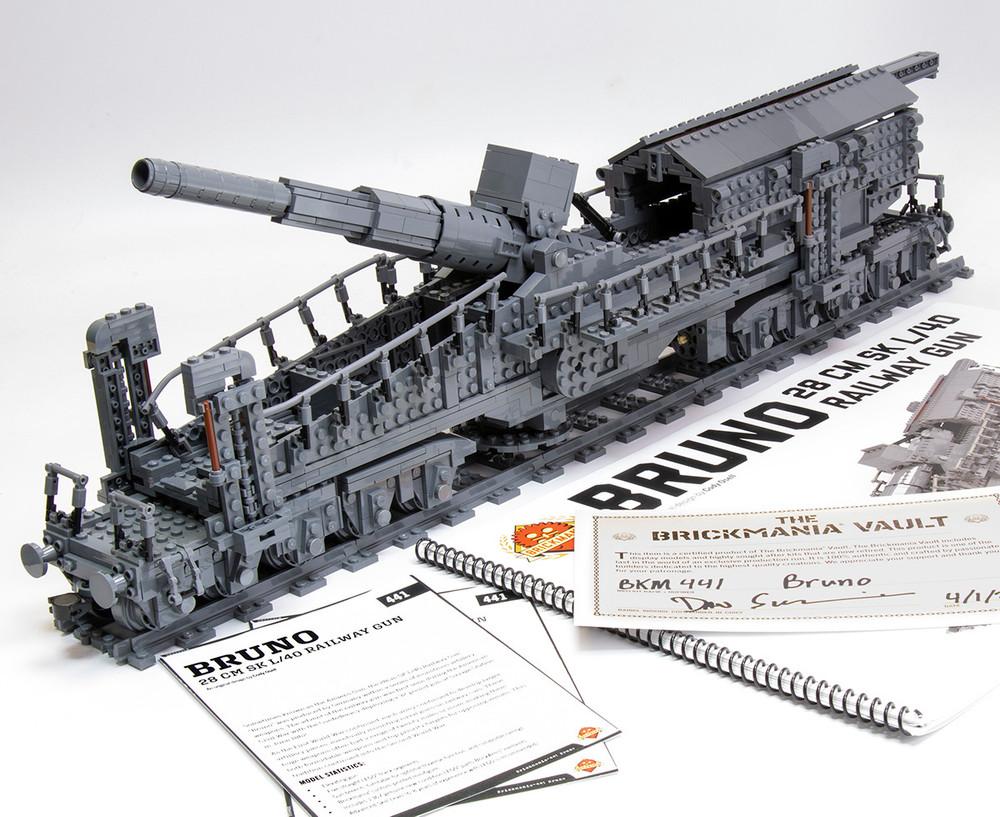 Bruno - 28 cm SK L/40 Railway Gun - BKM Vault
