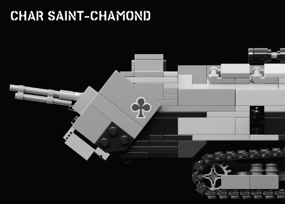 Char Saint-Chamond - World War I Tank