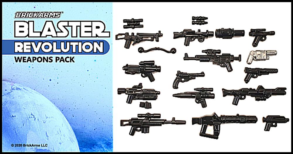 BrickArms® Blaster Pack - Revolution