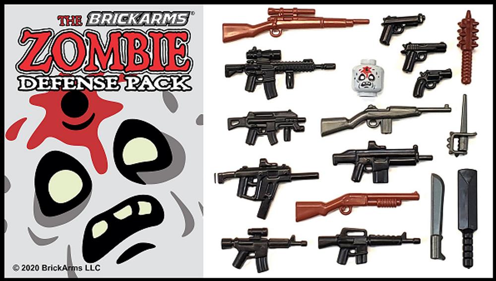 BrickArms® 2020 Zombie Defense Pack