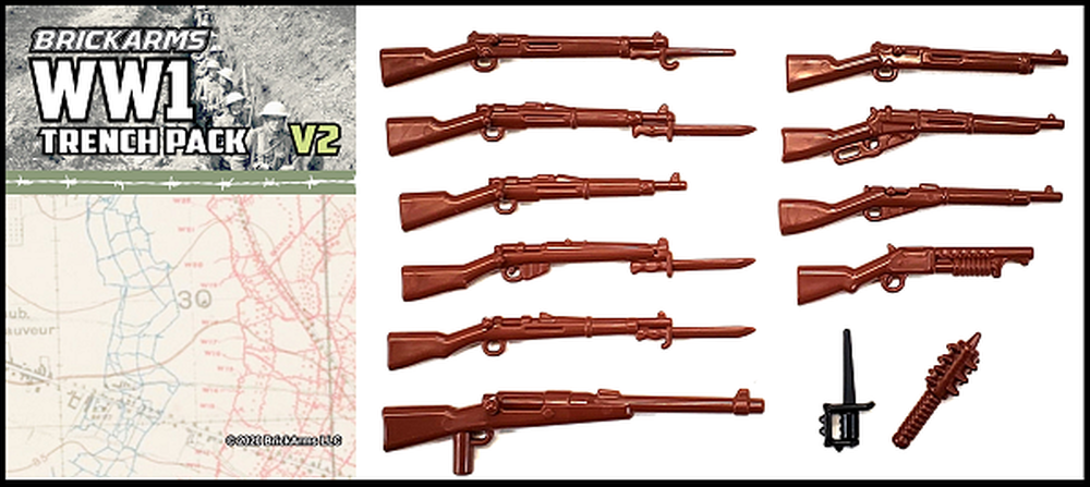BrickArms® WWI Trench Pack V2