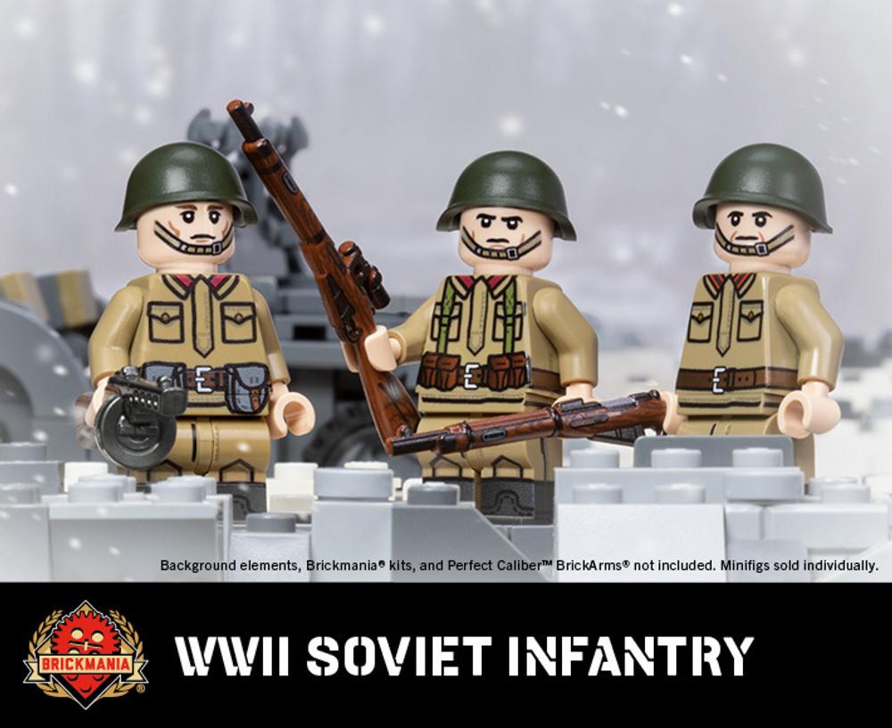 WWII Soviet Infantry - Mosin Nagant Pouches