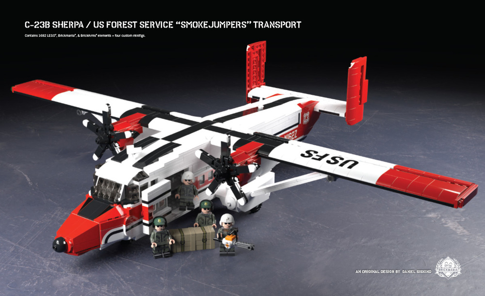 "C-23B Sherpa - US Forest Service ""Smokejumpers"" Transport"