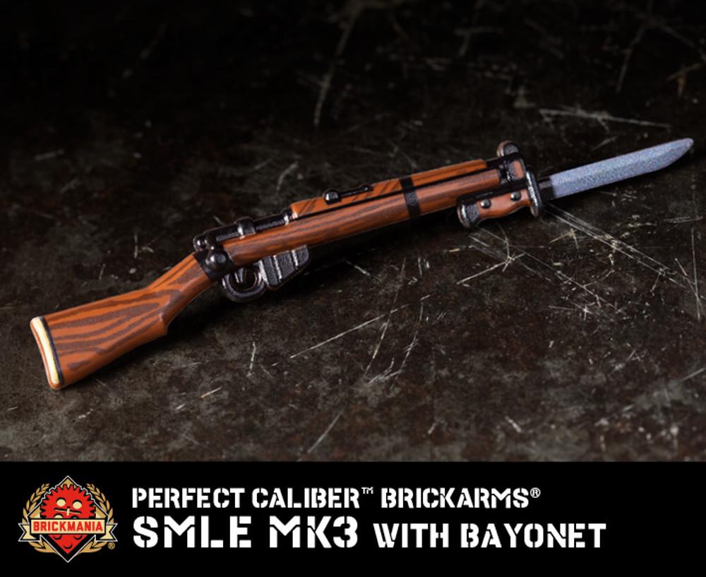 Perfect Caliber™ BrickArms® SMLE Mk3 w/ Bayonet