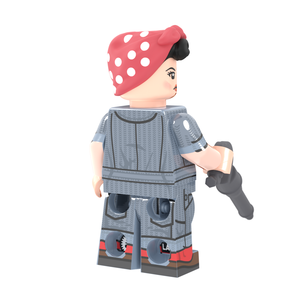 Rosie the Riveter - Minifig of the Month