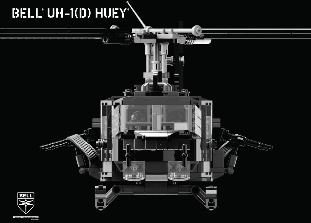 Bell® UH-1(D) Huey® - Utility Military Helicopter