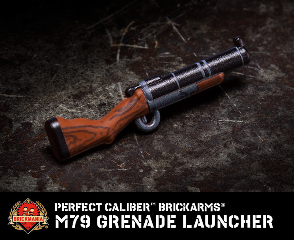 Perfect Caliber™ BrickArms® M79 Grenade Launcher
