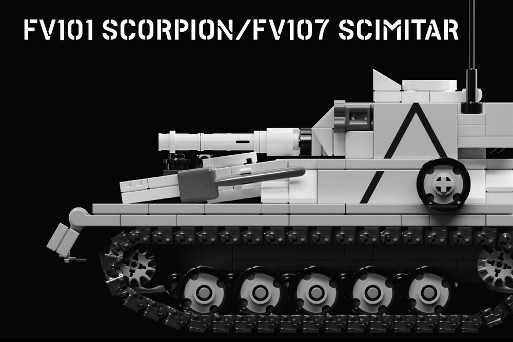 FV101 Scorpion/FV107 Scimitar – Light Tank