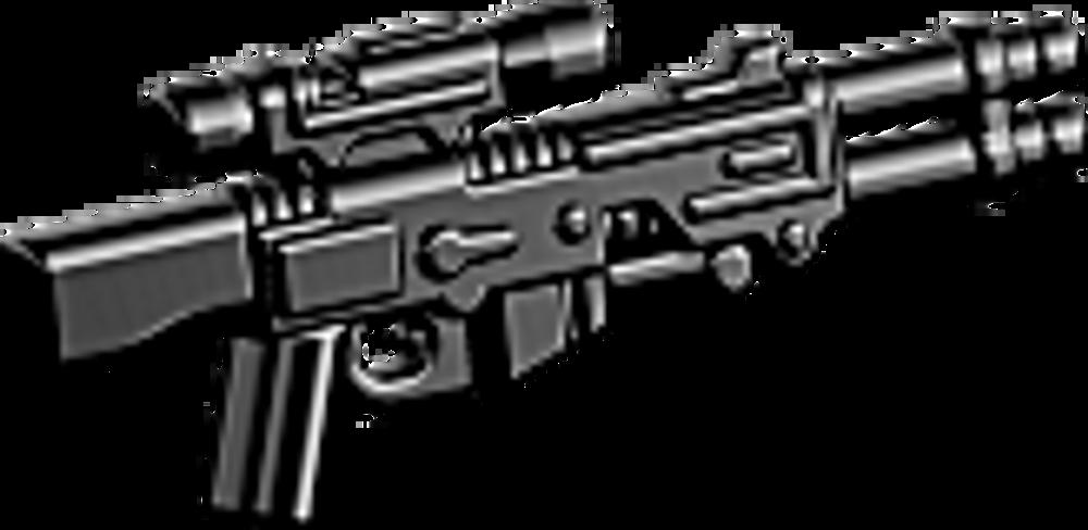 BrickArms® A350 Blaster Rifle - Black