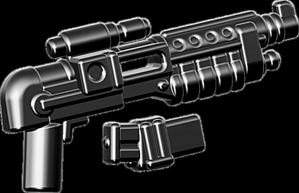 BrickArms®  E-24DT Blaster Rifle w/Mag - Black