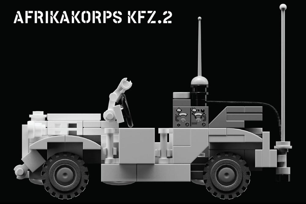 Afrikakorps Kfz.2 Radio Truck
