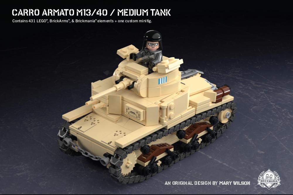 Carro Armato M13/40 - Medium Tank