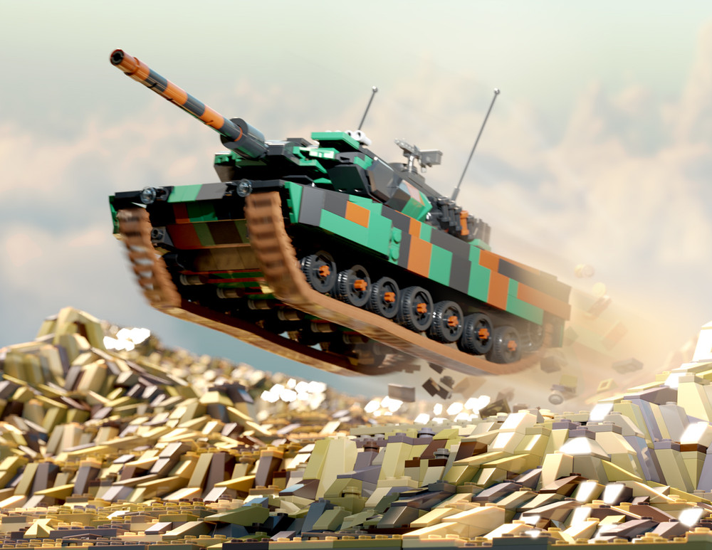 Leopard 2A7 - Digital Building Instructions
