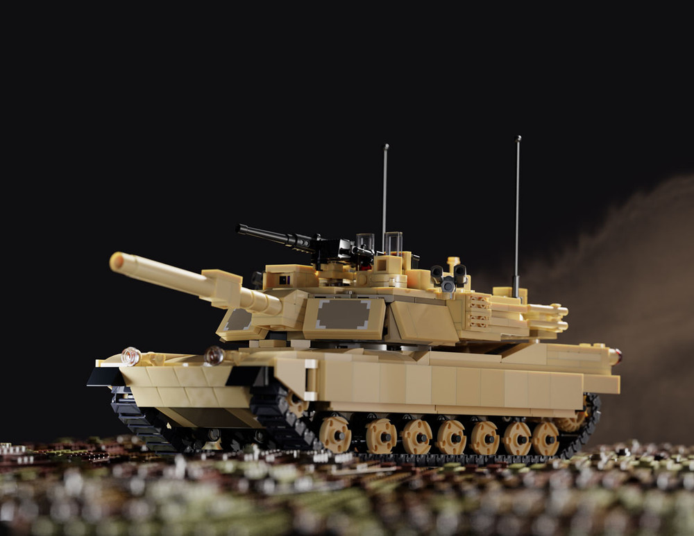 M1A2 Abrams (BKE897) - Sticker Pack