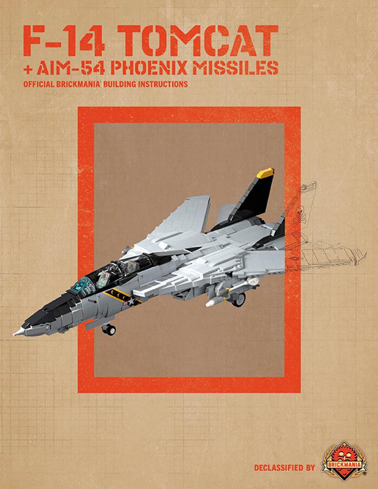 F-14 Tomcat - Digital Building Instructions