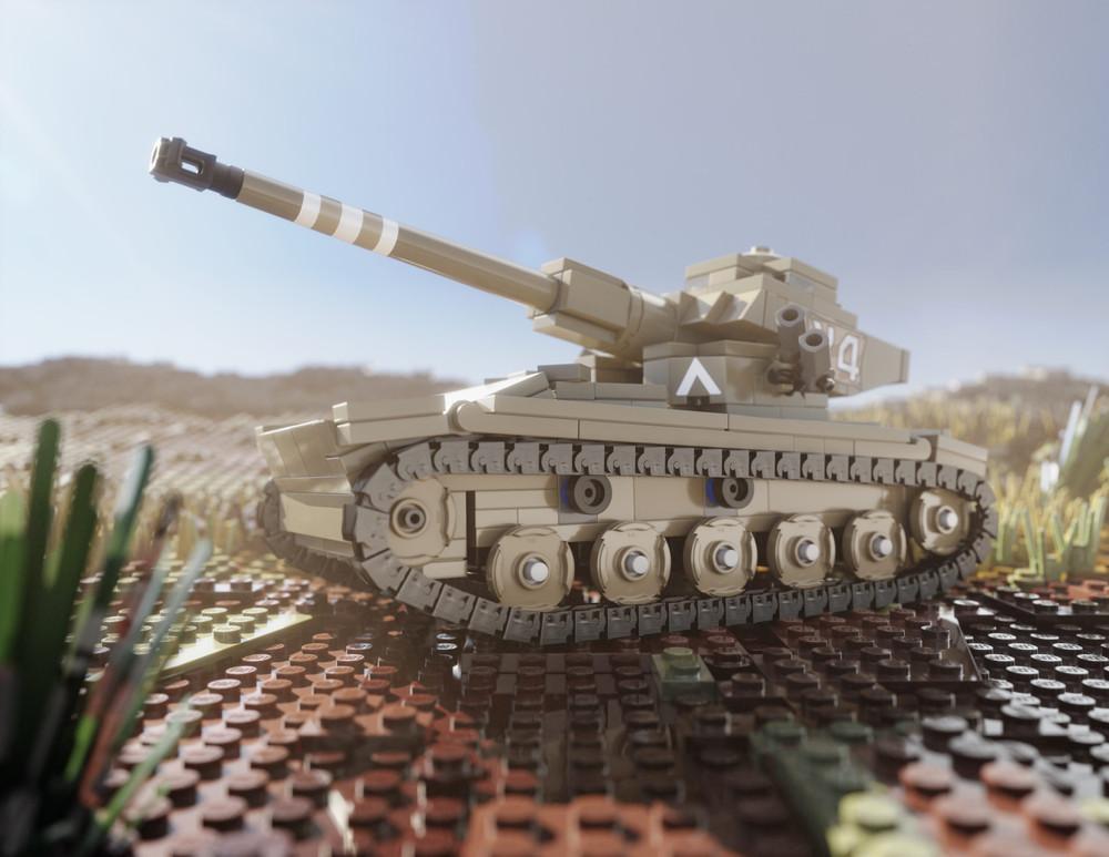 AMX-13 Light Tank - Digital Building Instructions