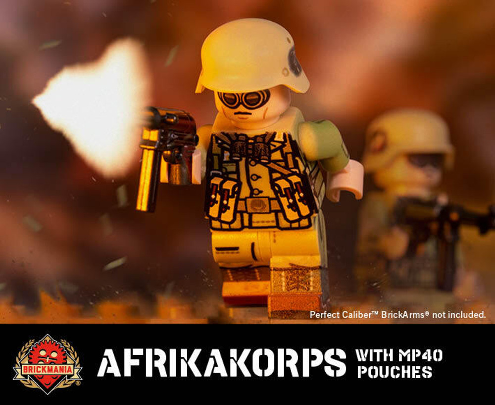Afrikakorps - MP40 - Minifig of the Month