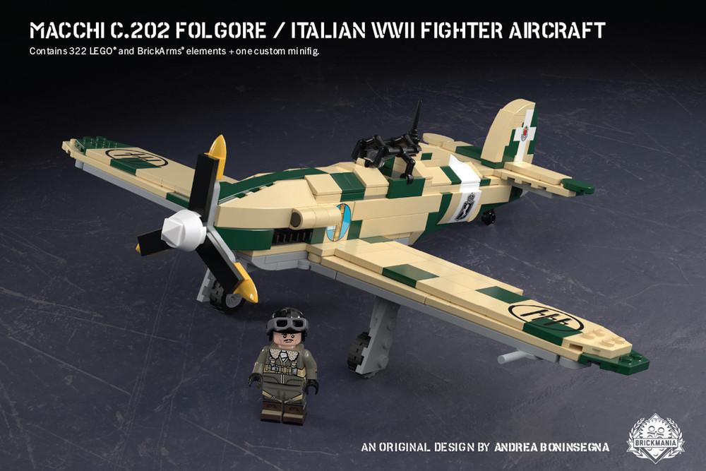 Macchi C.202 Folgore - Italian WWII Fighter Aircraft