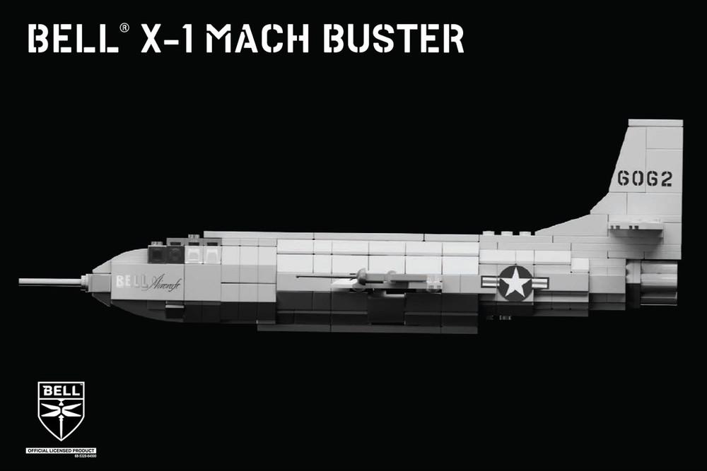 Bell® X-1 Mach Buster - Rocket Plane