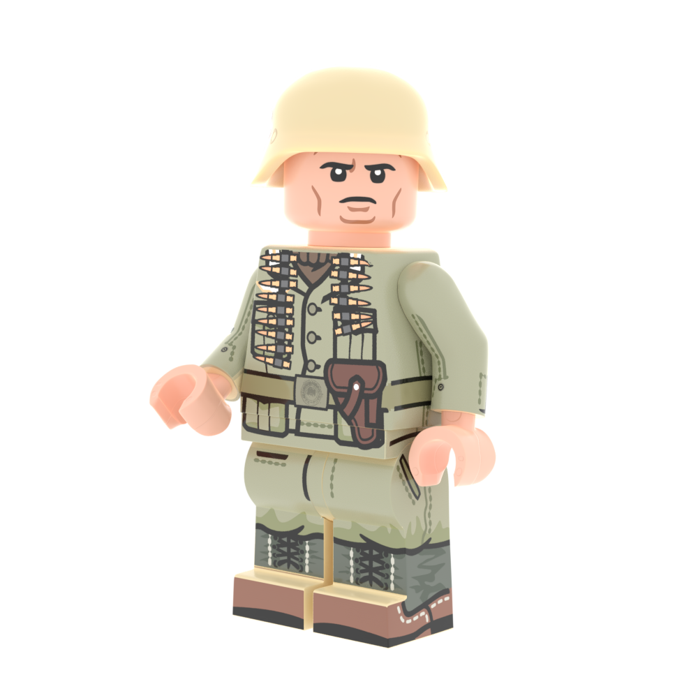Afrikakorps - MG - Minifig of the Month