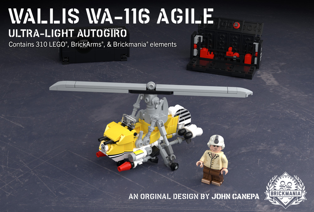 Wallis WA-116 Agile - Ultra-Light Autogiro