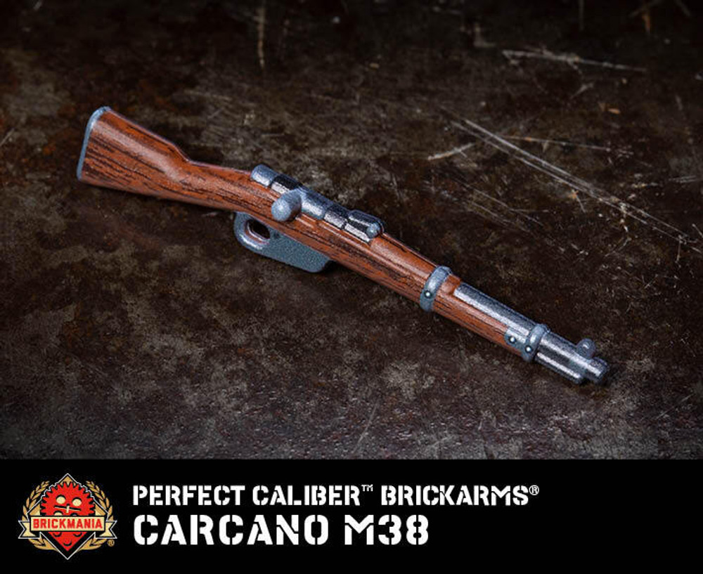 Perfect Caliber BrickArms® Carcano M38