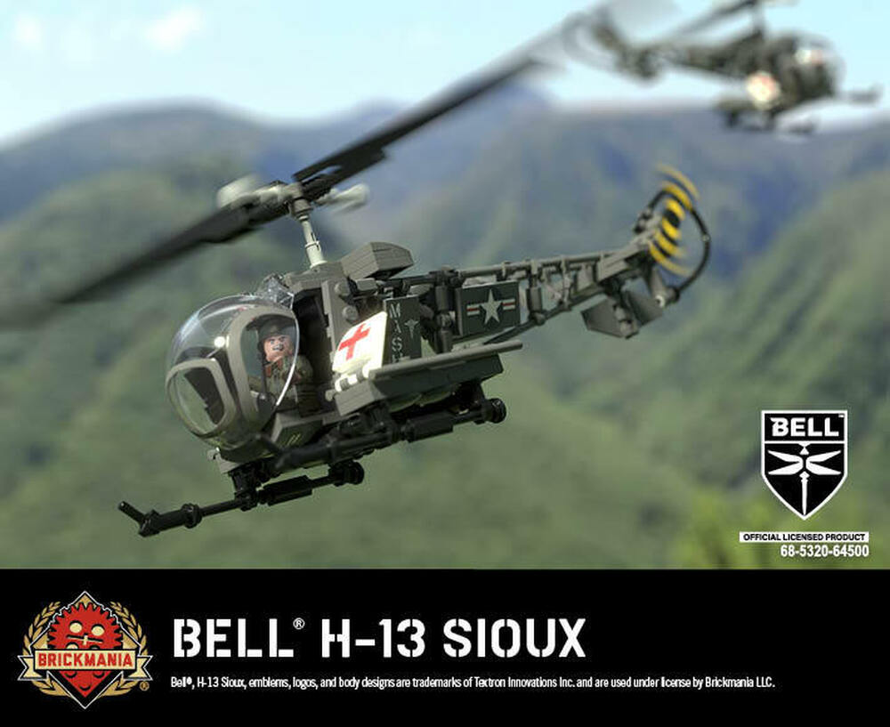 Bell® H-13 Sioux - MASH Helicopter