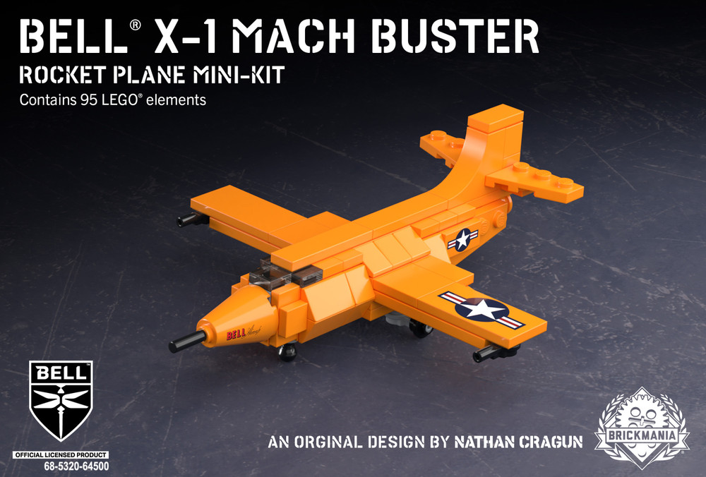 Bell® X-1 Mach Buster - Rocket Plane Mini-Kit