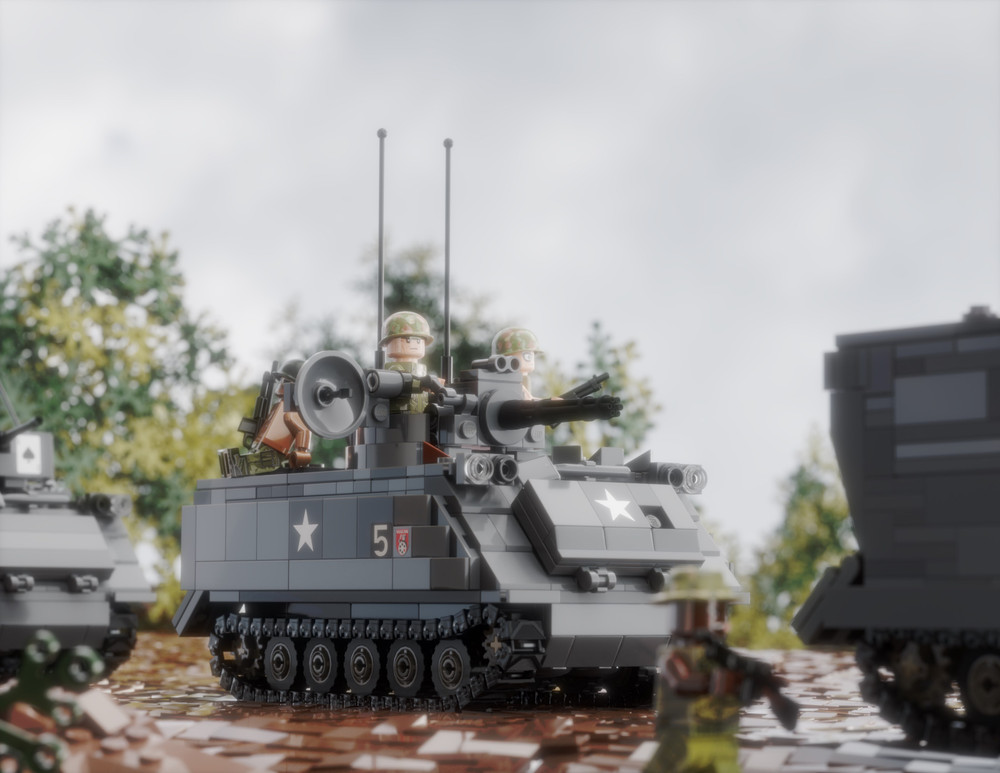 M113 APC + M163 VADS, M577 & ACAV - Sticker Pack
