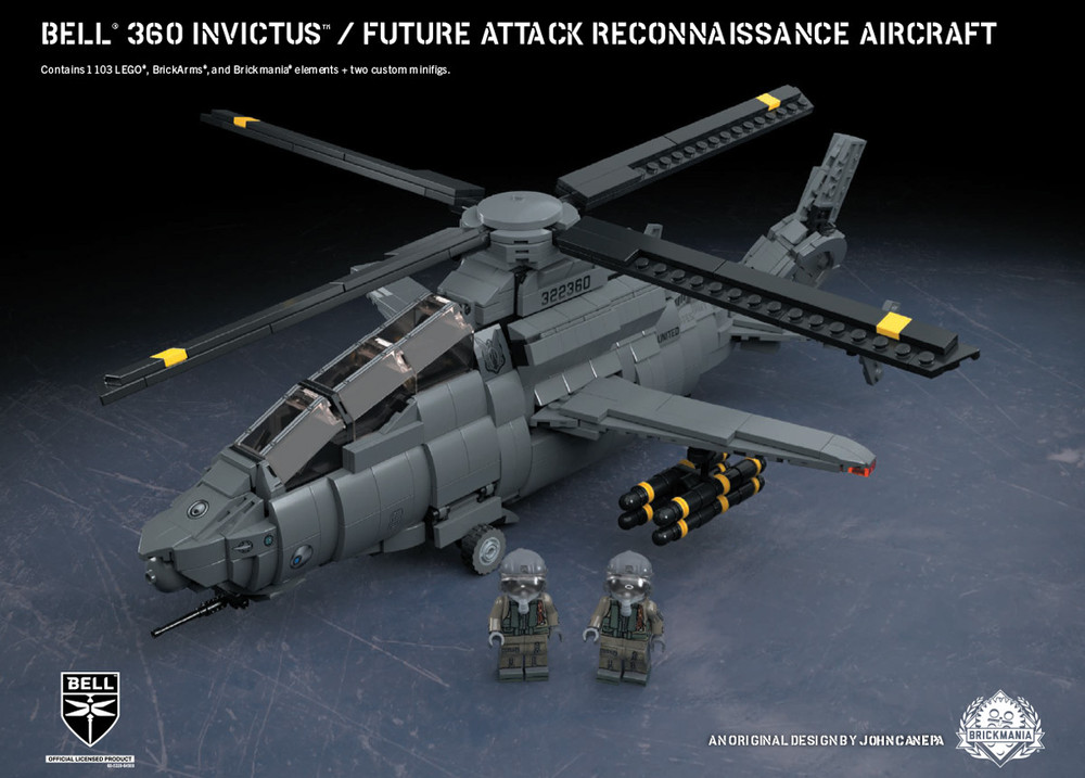 Bell® 360 Invictus™ - Future Attack Reconnaissance Aircraft