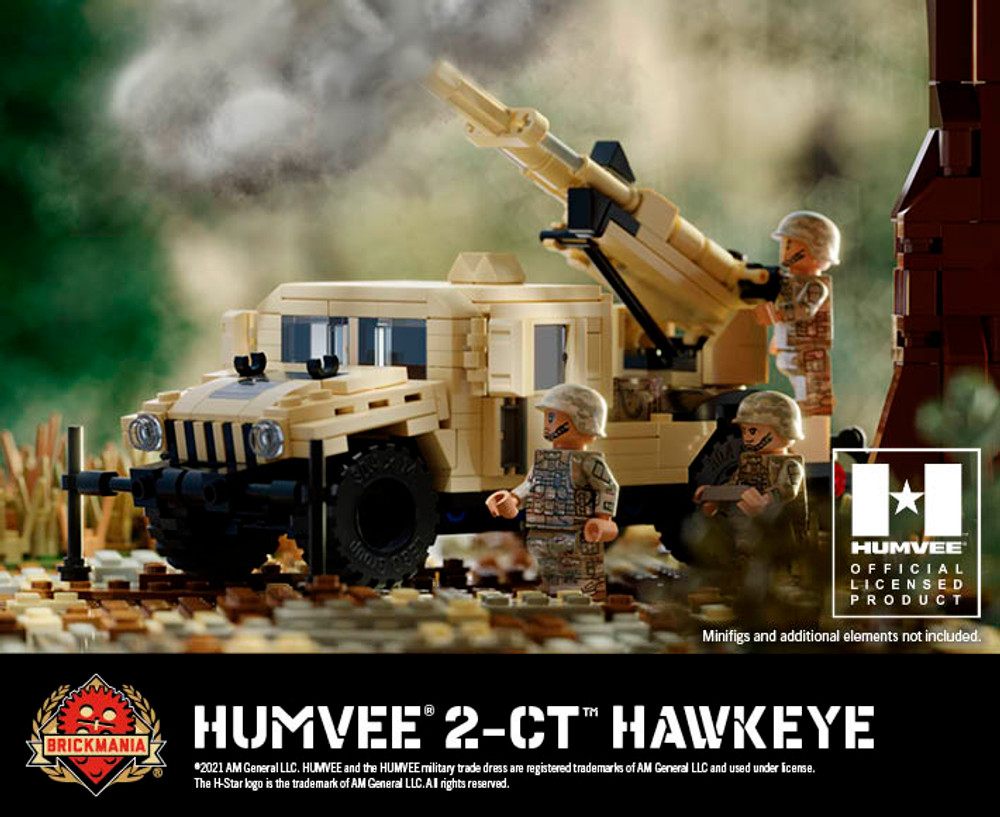 Humvee® 2-CT™ Hawkeye - Mobile Howitzer System