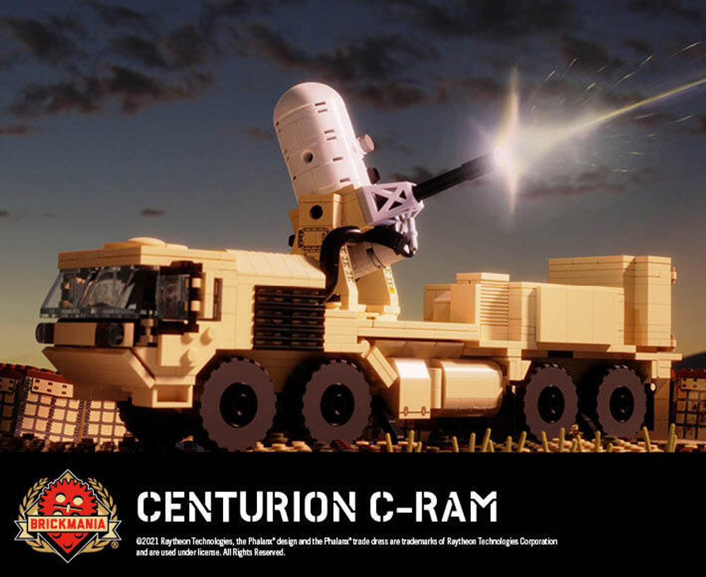 Centurion C-RAM – Land-Based Phalanx® Weapon System