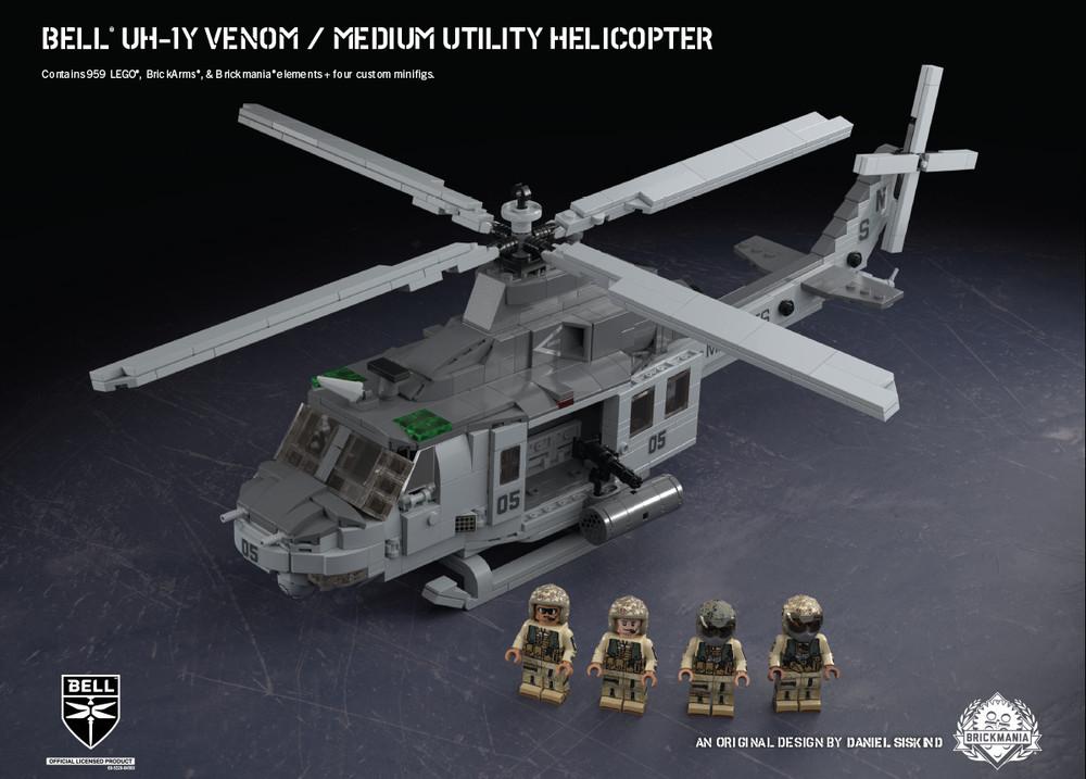 Bell® UH-1Y Venom – Medium Utility Helicopter